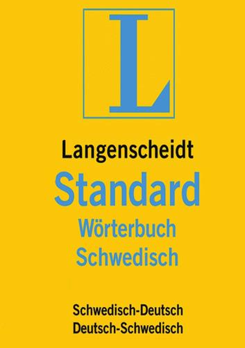 Verpackung von Langenscheidt Standard-Wörterbuch Schwedisch [Mac-Software]
