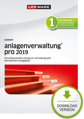 Verpackung von Lexware anlagenverwaltung pro 2019 [PC-Software]