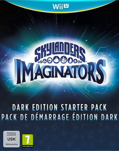 Verpackung von Skylanders Imaginators Starter Pack Dark Creation Edition [Wii U]