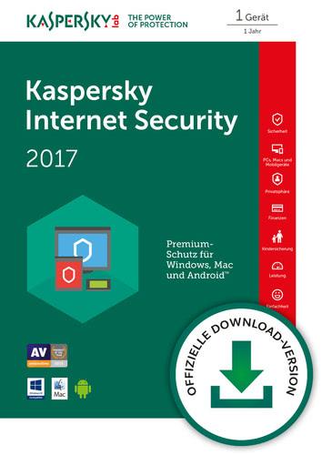 Verpackung von Kaspersky Internet Security 2017 [MULTIPLATFORM]