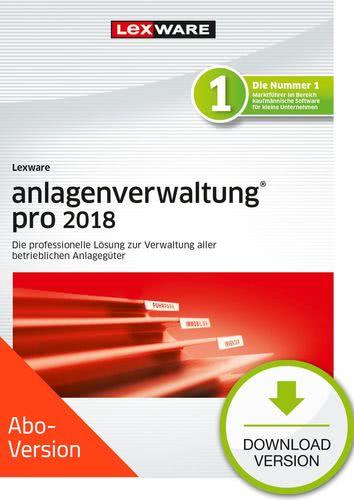 Verpackung von Lexware anlagenverwaltung pro 2018 Download - Abo Version [PC-Software]