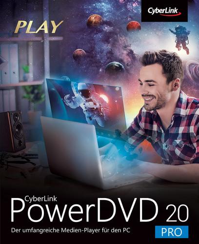 Verpackung von Cyberlink PowerDVD 20 Pro [PC-Software]