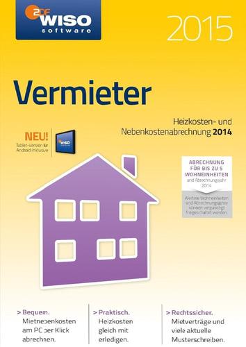 Verpackung von WISO vermieter 2015 [PC-Software]