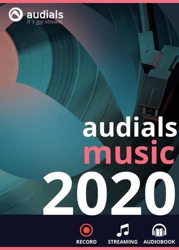 Verpackung von Audials Music 2020 [PC-Software]