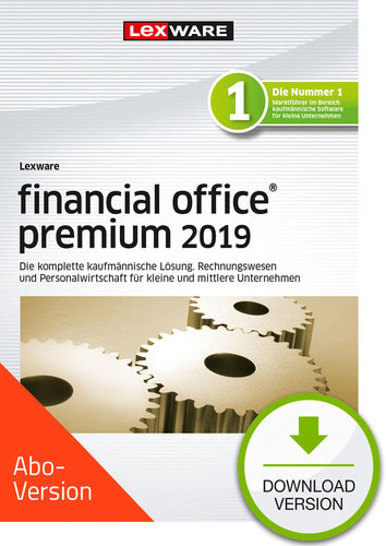 Verpackung von Lexware financial office premium 2019 Download - Abo Version [PC-Software]