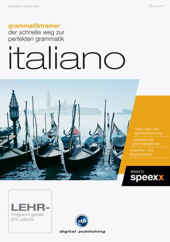 Verpackung von Grammatiktrainer Italiano [PC-Software]