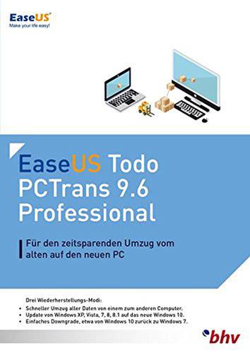 Verpackung von EaseUS PCTrans Professional 9.6 [PC-Software]