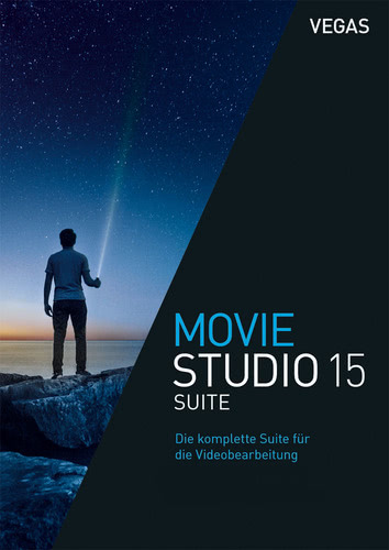 Verpackung von Vegas Movie Studio 15 Suite [PC-Software]