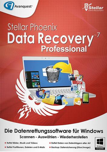 Verpackung von Stellar Phoenix Data Recovery 7 Professional [PC-Software]