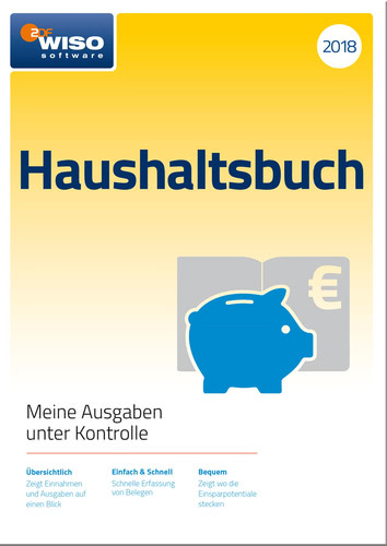 WISO Haushaltsbuch 2018, ESD (Download) (PC)
