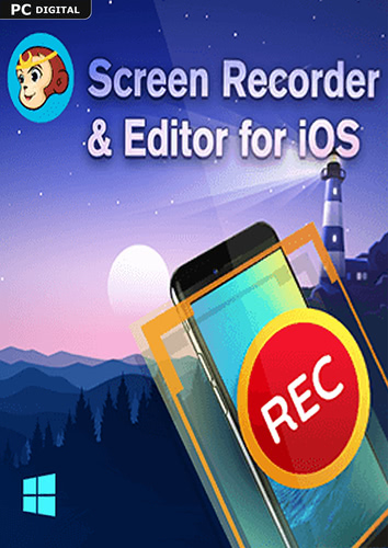 Verpackung von DVDFab Screen Recorder & Editor for iOS [PC-Software]