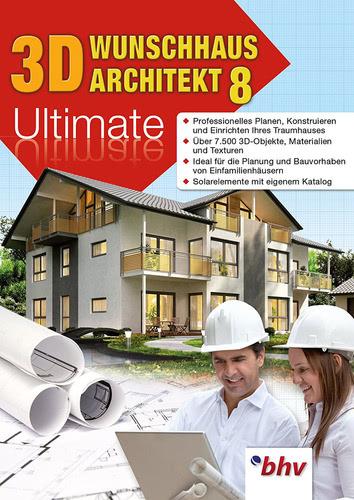 Verpackung von 3D Wunschhaus Architekt 8.0 Ultimate [PC-Software]