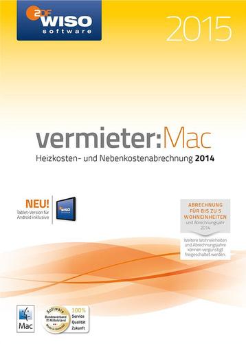 Verpackung von WISO vermieter:Mac 2015 [Mac-Software]