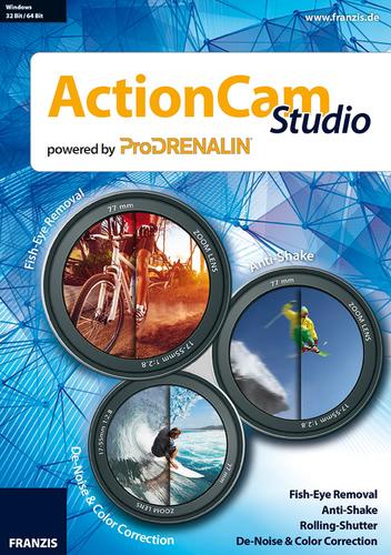 Verpackung von ActionCam Studio [PC-Software]
