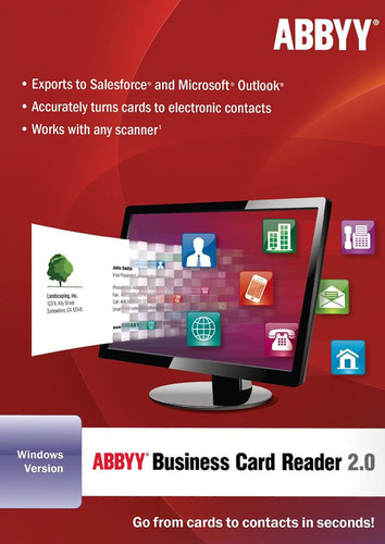 Verpackung von ABBYY Business Card Reader 2.0 (for Windows) [PC-Software]