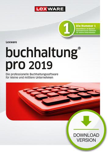 Verpackung von Lexware buchhaltung pro 2019 [PC-Software]