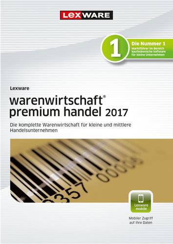 Verpackung von Lexware warenwirtschaft premium handel 2017 Jahresversion (365-Tage) [PC-Software]