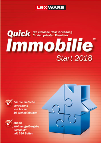 Lexware QuickImmobilie Start 2018 Jahresversion...
