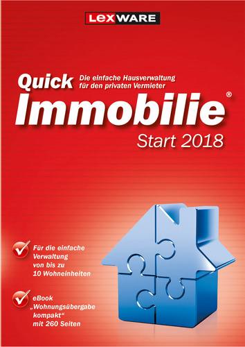 Verpackung von Lexware QuickImmobilie Start 2018 Jahresversion (365-Tage) [PC-Software]