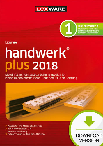 Lexware handwerk plus 2018 Download – Abo Version
