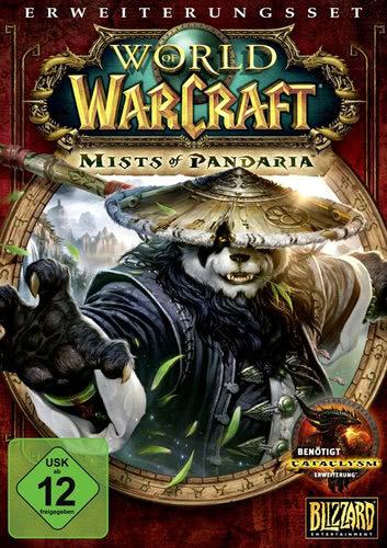 Verpackung von World of WarCraft Mists of Pandaria [PC]