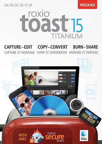 Verpackung von Roxio Toast 15 Titanium [Mac-Software]
