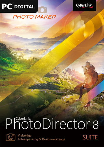 Verpackung von CyberLink PhotoDirector 8 Suite [PC-Software]