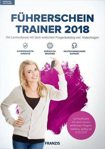 Verpackung von Führerschein Trainer 2018 [PC-Software]