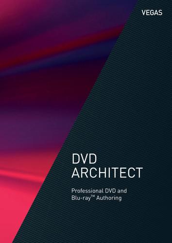 Verpackung von VEGAS DVD Architect [PC-Software]
