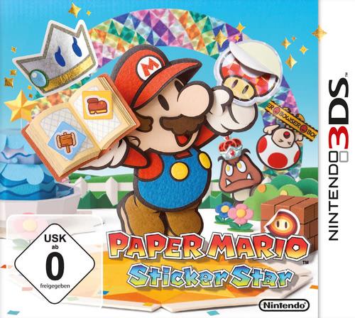 Verpackung von Paper Mario: Sticker Star [3DS]
