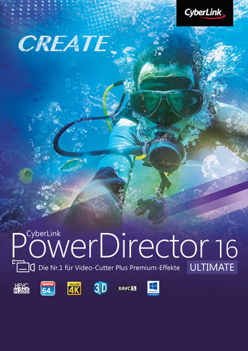 CyberLink PowerDirector 16 Ultimate, ESD (Downl...