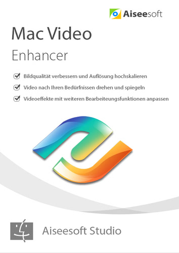 Aiseesoft Video Enhancer Mac – Lebenslange Lizenz (Download), MAC