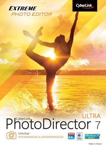 Verpackung von PhotoDirector 7 Ultra [PC-Software]