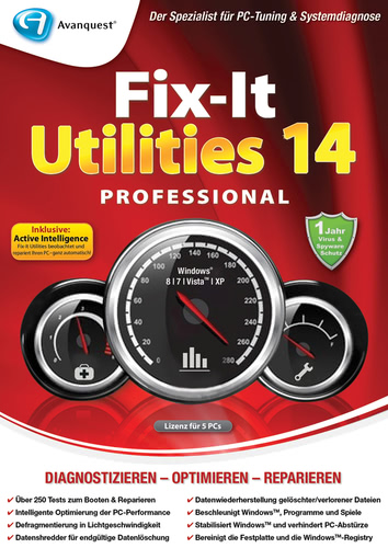 Verpackung von Fix-It Utilities 14 Professional [PC-Software]
