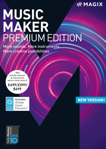 Packaging by Magix Music Maker Premium Edition (2018) [PC-software]