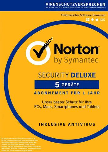 Verpackung von Symantec Norton Security 3.0 Deluxe - 5 Geräte [MULTIPLATFORM]