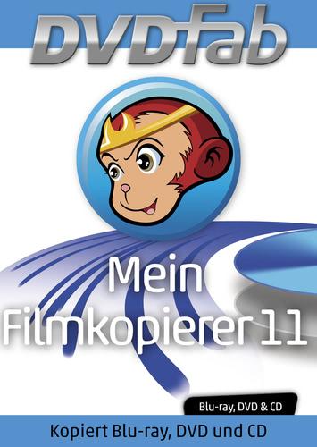 Verpackung von Mein Filmkopierer 11 - DVDFab DVD Copy 9 und Blu-Ray Copy 9 [PC-Software]