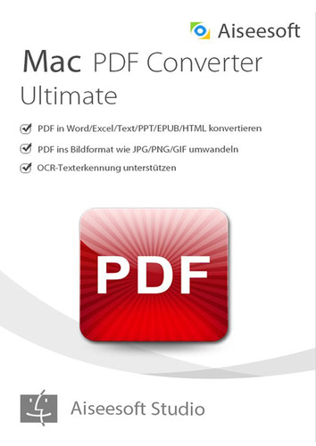 PDF Converter Ultimate für Mac (Version 2017) – lebenslange Lizenz (Download), MAC