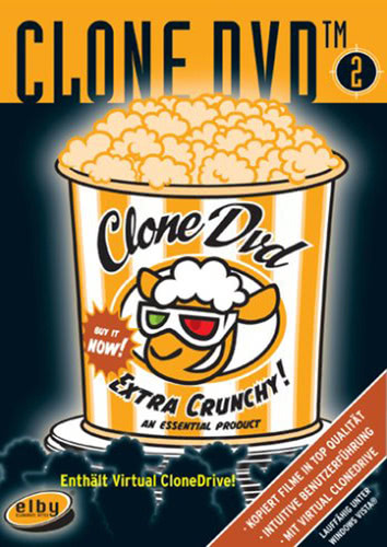 Verpackung von CloneDVD 2 [PC-Software]