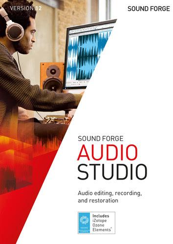 Verpackung von Sound Forge Audio Studio 12 [PC-Software]