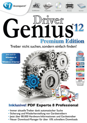 Driver Genius 12 Premium Edition (Download), PC