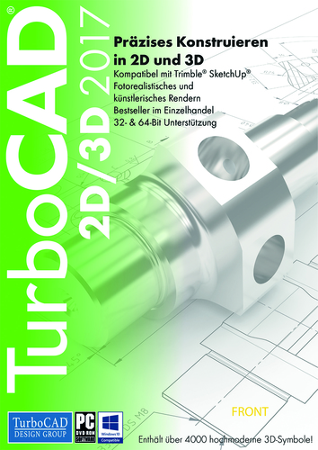 TurboCAD 2D/3D 2017 (Download), PC
