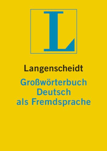 Verpackung von Langenscheidt Großwörterbuch Deutsch als Fremdsprache [PC-Software]