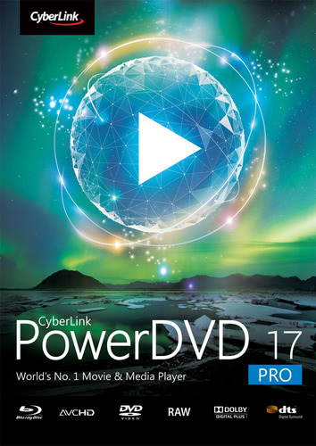 Packaging by CyberLink PowerDVD 17 Pro [PC-software]