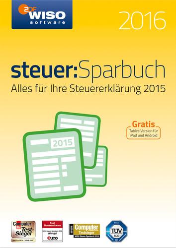 Verpackung von WISO steuer:Sparbuch 2016 (für Steuerjahr 2015) [PC-Software]
