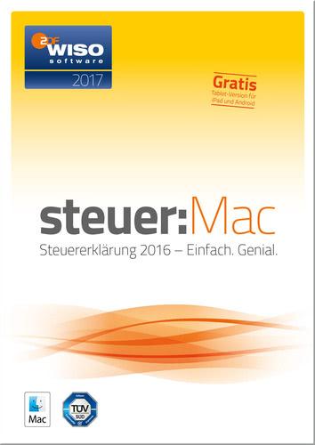 Verpackung von WISO steuer:Mac 2017 Mac (für Steuerjahr 2016) [Mac-Software]