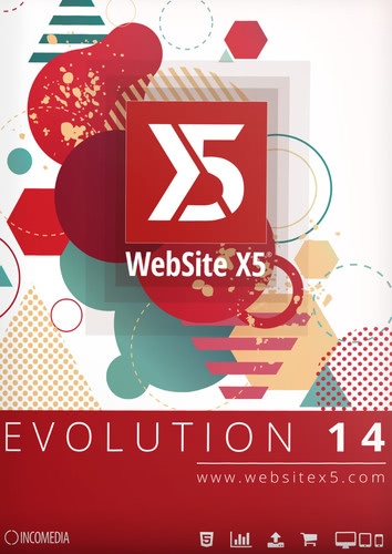 Verpackung von WebSite X5 Evolution 14 [PC-Software]