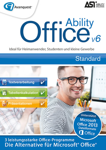 Verpackung von Ability Office 6 [PC-Software]