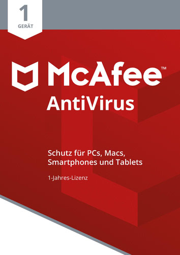 McAfee AntiVirus 2018 1 Gerät / 12 Monate, ESD (Download) (PC)