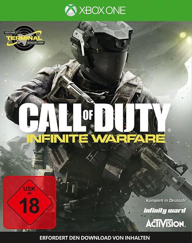 Verpackung von Call of Duty: Infinite Warfare [Xbox One]